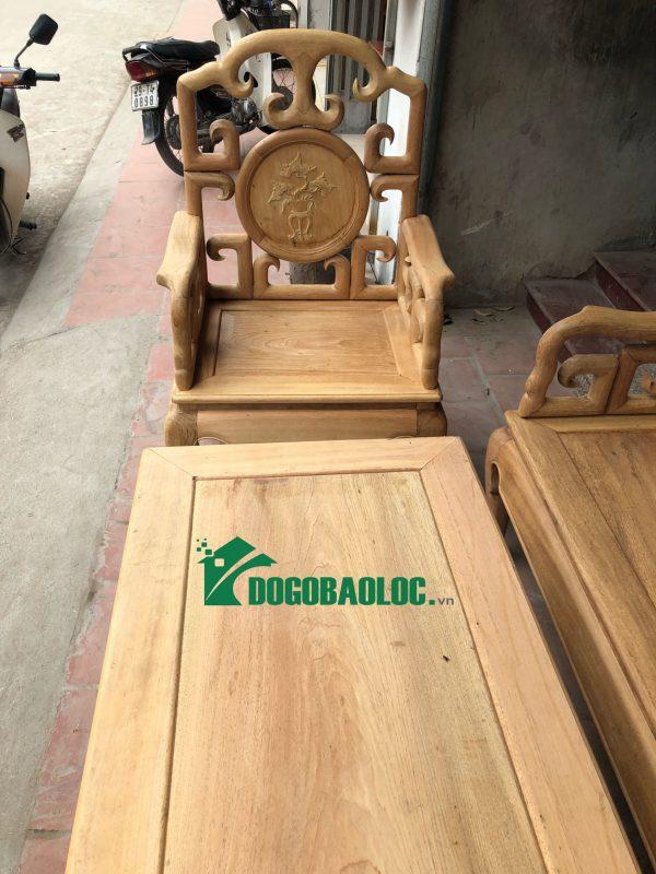 Ghế đơn bộ Bàn Ghế Móc Tàu 6 món gỗ Gụ
